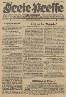 Freie Presse, Nr. 261 Dienstag 6. November 1928 4. Jahrgang