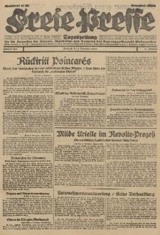 Freie Presse, Nr. 262 Mittwoch 7. November 1928 4. Jahrgang
