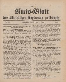 Amts-Blatt der Königlichen Regierung zu Danzig, 29. Mai 1897, Nr. 22