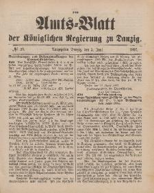 Amts-Blatt der Königlichen Regierung zu Danzig, 5. Juni 1897, Nr. 23