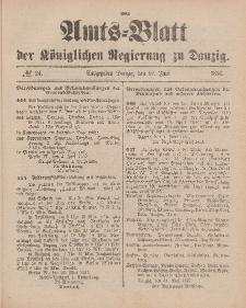 Amts-Blatt der Königlichen Regierung zu Danzig, 12. Juni 1897, Nr. 24
