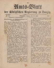 Amts-Blatt der Königlichen Regierung zu Danzig, 19. Juni 1897, Nr. 25