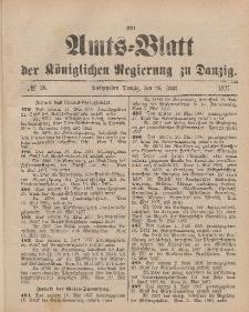 Amts-Blatt der Königlichen Regierung zu Danzig, 26. Juni 1897, Nr. 26