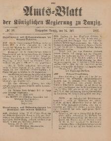 Amts-Blatt der Königlichen Regierung zu Danzig, 24. Juli 1897, Nr. 30