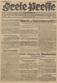 Freie Presse, Nr. 264 Freitag 9. November 1928 4. Jahrgang