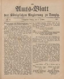 Amts-Blatt der Königlichen Regierung zu Danzig, 9. Oktober 1897, Nr. 41