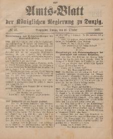 Amts-Blatt der Königlichen Regierung zu Danzig, 16. Oktober 1897, Nr. 42