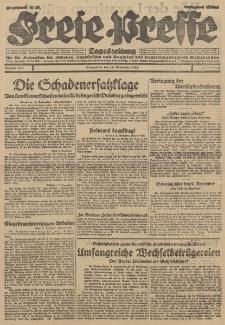 Freie Presse, Nr. 265 Sonnabend 10. November 1928 4. Jahrgang