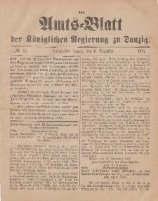 Amts-Blatt der Königlichen Regierung zu Danzig, 4. Dezember 1897, Nr. 49