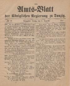Amts-Blatt der Königlichen Regierung zu Danzig, 11. Dezember 1897, Nr. 50