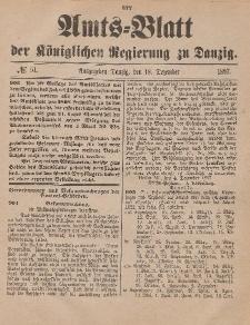 Amts-Blatt der Königlichen Regierung zu Danzig, 18. Dezember 1897, Nr. 51