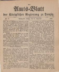Amts-Blatt der Königlichen Regierung zu Danzig, 25. Dezember 1897, Nr. 52