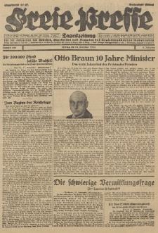 Freie Presse, Nr. 266 Montag 12. November 1928 4. Jahrgang