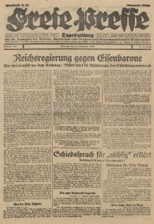 Freie Presse, Nr. 267 Dienstag 13. November 1928 4. Jahrgang