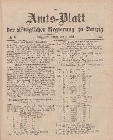 Amts-Blatt der Königlichen Regierung zu Danzig, 6. Mai 1893, Nr. 18
