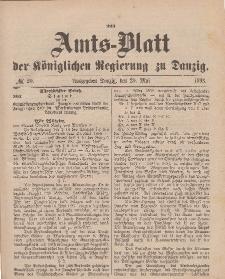 Amts-Blatt der Königlichen Regierung zu Danzig, 20. Mai 1893, Nr. 20