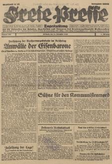 Freie Presse, Nr. 268 Mittwoch 14. November 1928 4. Jahrgang