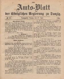 Amts-Blatt der Königlichen Regierung zu Danzig, 17. Juni 1893, Nr. 24