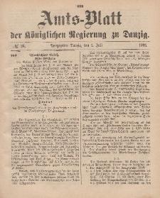 Amts-Blatt der Königlichen Regierung zu Danzig, 1. Juli 1893, Nr. 26