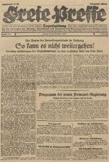 Freie Presse, Nr. 270 Freitag 16. November 1928 4. Jahrgang