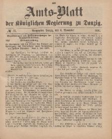 Amts-Blatt der Königlichen Regierung zu Danzig, 4. November 1893, Nr. 44