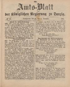 Amts-Blatt der Königlichen Regierung zu Danzig, 9. Dezember 1893, Nr. 49