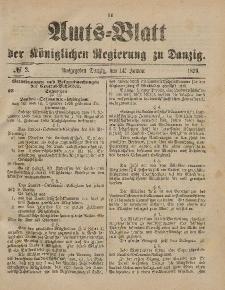 Amts-Blatt der Königlichen Regierung zu Danzig, 14. Januar 1899, Nr. 2