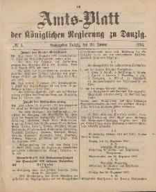 Amts-Blatt der Königlichen Regierung zu Danzig, 20. Januar 1894, Nr. 3