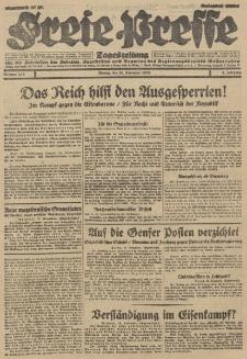 Freie Presse, Nr. 272 Montag 19. November 1928 4. Jahrgang