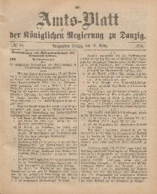Amts-Blatt der Königlichen Regierung zu Danzig, 10. März 1894, Nr. 10