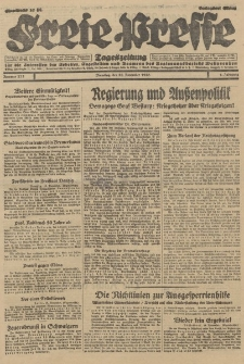 Freie Presse, Nr. 273 Dienstag 20. November 1928 4. Jahrgang