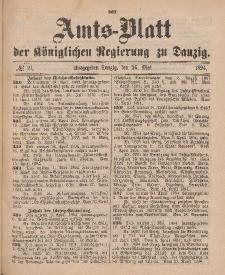Amts-Blatt der Königlichen Regierung zu Danzig, 26. Mai 1894, Nr. 21