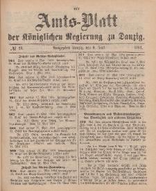 Amts-Blatt der Königlichen Regierung zu Danzig, 9. Juni 1894, Nr. 23