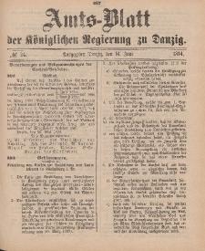 Amts-Blatt der Königlichen Regierung zu Danzig, 16. Juni 1894, Nr. 24