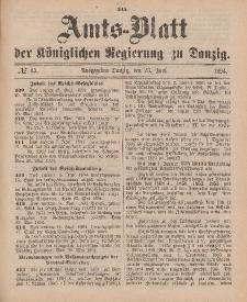 Amts-Blatt der Königlichen Regierung zu Danzig, 23. Juni 1894, Nr. 25