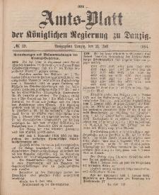 Amts-Blatt der Königlichen Regierung zu Danzig, 21. Juli 1894, Nr. 29