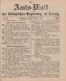 Amts-Blatt der Königlichen Regierung zu Danzig, 28. Juli 1894, Nr. 30