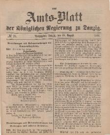 Amts-Blatt der Königlichen Regierung zu Danzig, 18. August 1894, Nr. 33