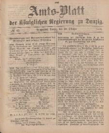 Amts-Blatt der Königlichen Regierung zu Danzig, 20. Oktober 1894, Nr. 42