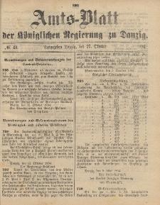 Amts-Blatt der Königlichen Regierung zu Danzig, 27. Oktober 1894, Nr. 43