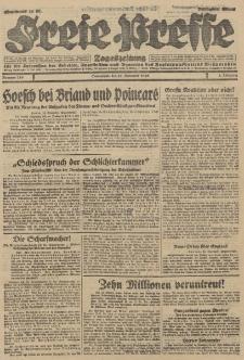Freie Presse, Nr. 276 Sonnabend 24. November 1928 4. Jahrgang