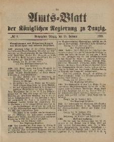 Amts-Blatt der Königlichen Regierung zu Danzig, 25. Februar 1899, Nr. 8