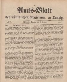 Amts-Blatt der Königlichen Regierung zu Danzig, 8. Februar 1896, Nr. 6