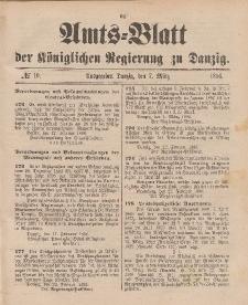 Amts-Blatt der Königlichen Regierung zu Danzig, 7. März 1896, Nr. 10