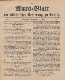 Amts-Blatt der Königlichen Regierung zu Danzig, 14. März 1896, Nr. 11