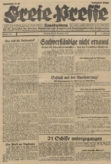 Freie Presse, Nr. 278 Dienstag 27. November 1928 4. Jahrgang