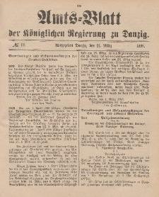 Amts-Blatt der Königlichen Regierung zu Danzig, 21. März 1896, Nr. 12