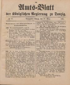 Amts-Blatt der Königlichen Regierung zu Danzig, 28. März 1896, Nr. 13