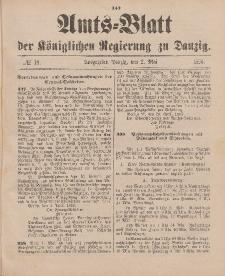 Amts-Blatt der Königlichen Regierung zu Danzig, 2. Mai 1896, Nr. 18