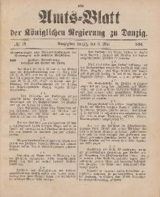 Amts-Blatt der Königlichen Regierung zu Danzig, 9. Mai 1896, Nr. 19